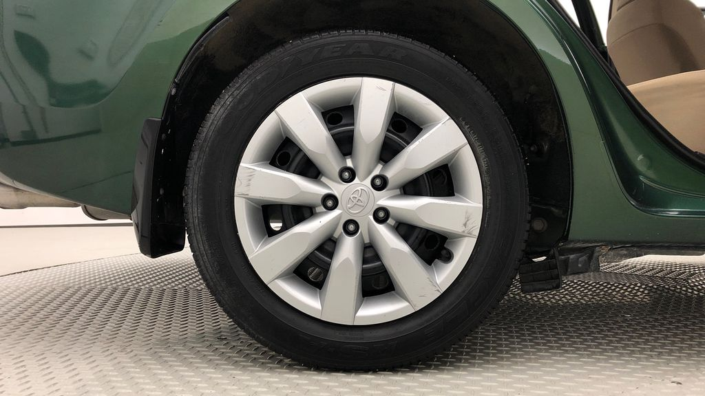 Green[4Evergreen Mica] 2015 Toyota Corolla LE - Auto, Heated Seats, Bluetooth, Cruise Control Right Rear Rim and Tire Photo in Winnipeg MB