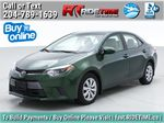 Green[4Evergreen Mica] 2015 Toyota Corolla LE - Auto, Heated Seats, Bluetooth, Cruise Control Primary Listing Photo in Winnipeg MB