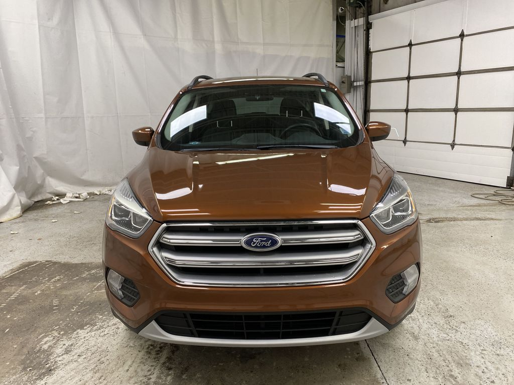Orange[Canyon Ridge] 2017 Ford Escape Front Vehicle Photo in Dartmouth NS