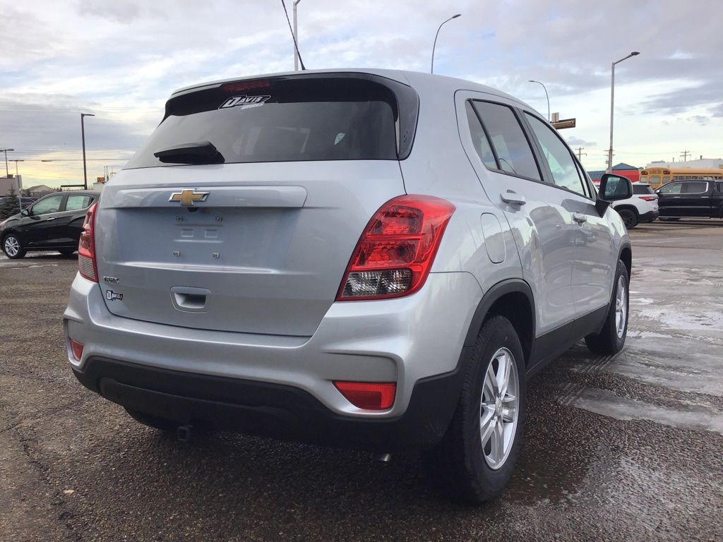 Silver 2021 Chevrolet Trax Left Front Interior Photo in Brooks AB