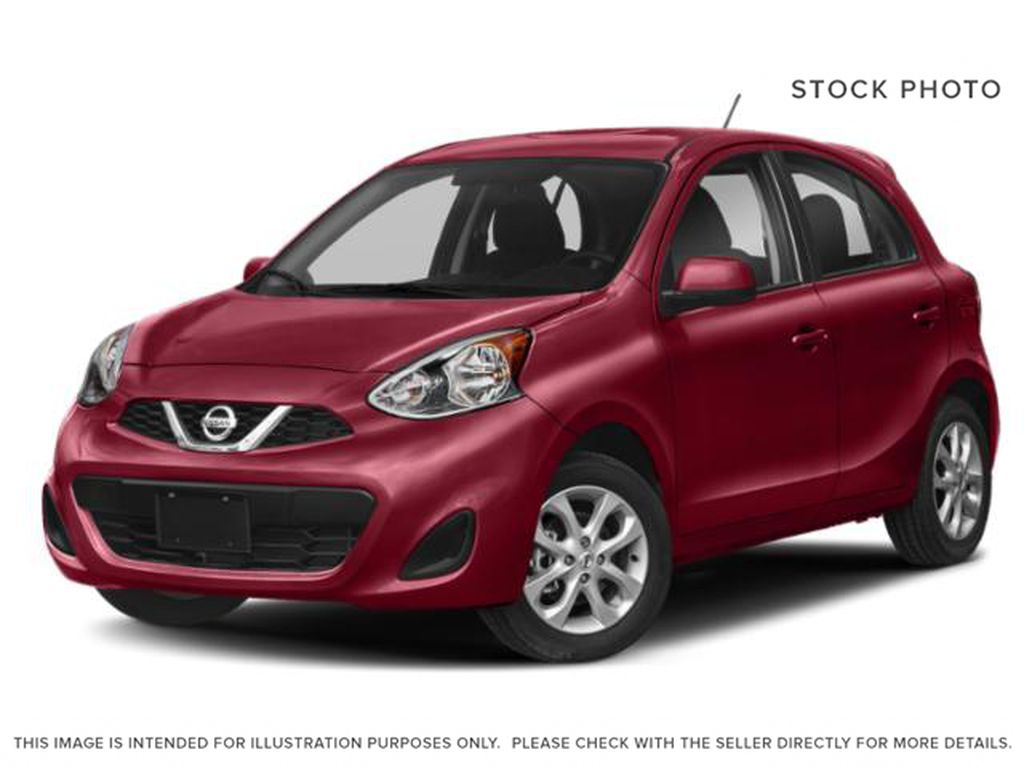 Red[Red Alert] 2019 Nissan Micra SV
