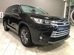 Black 2018 Toyota Highlander XLE | Extended Warranty Included Left Front Interior Photo in Edmonton AB