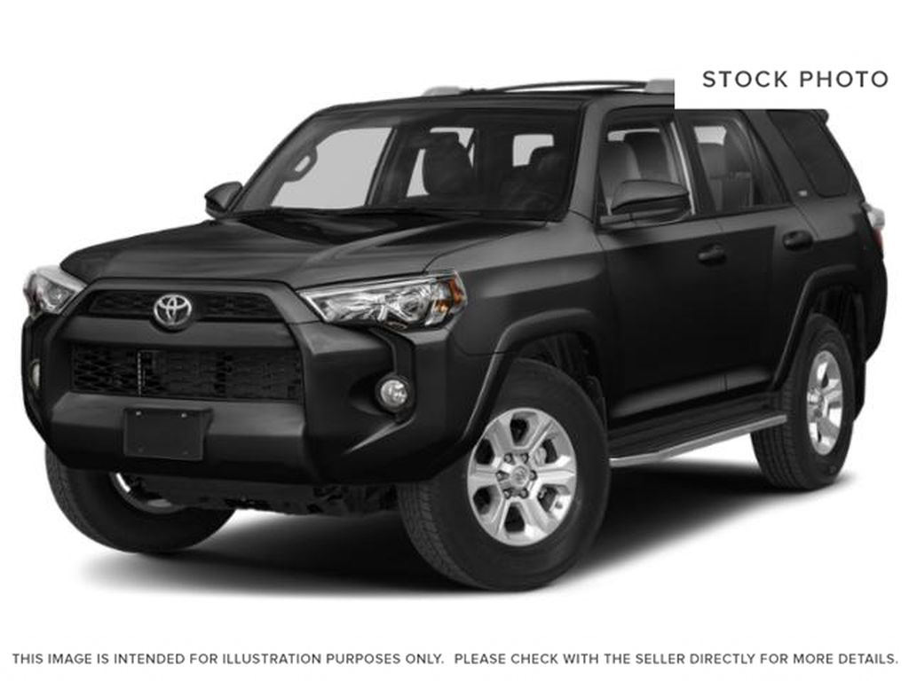 Black[Midnight Black Metallic] 2019 Toyota 4Runner 4DR 4WD