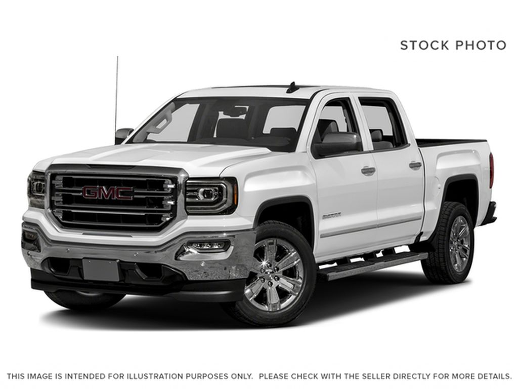 White 2017 GMC Sierra 1500