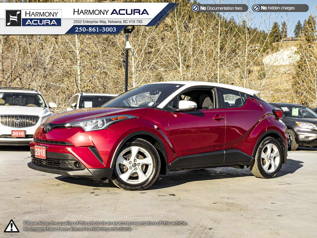 Red / White 2018 Toyota C-HR
