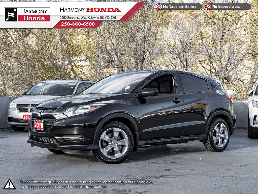 Black 2018 Honda HR-V