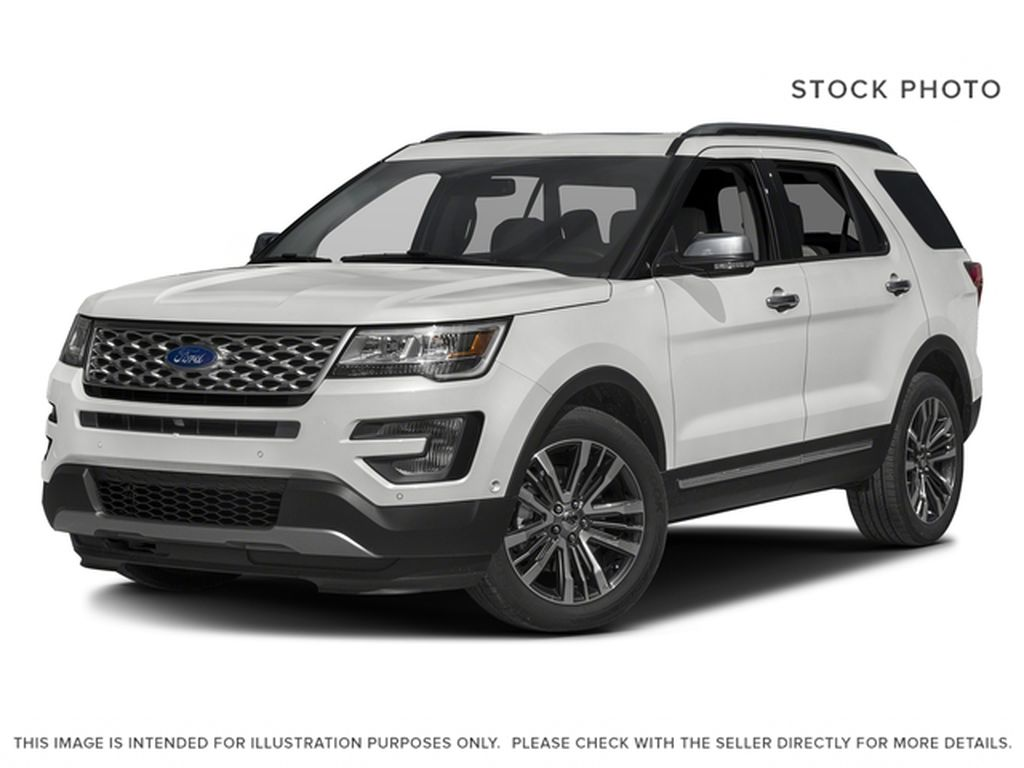 White[Oxford White] 2016 Ford Explorer