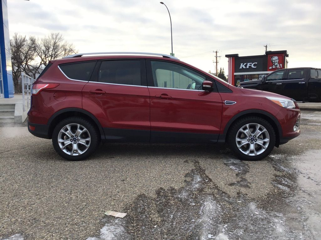 Red 2014 Ford Escape Sunroof Photo in Brooks AB