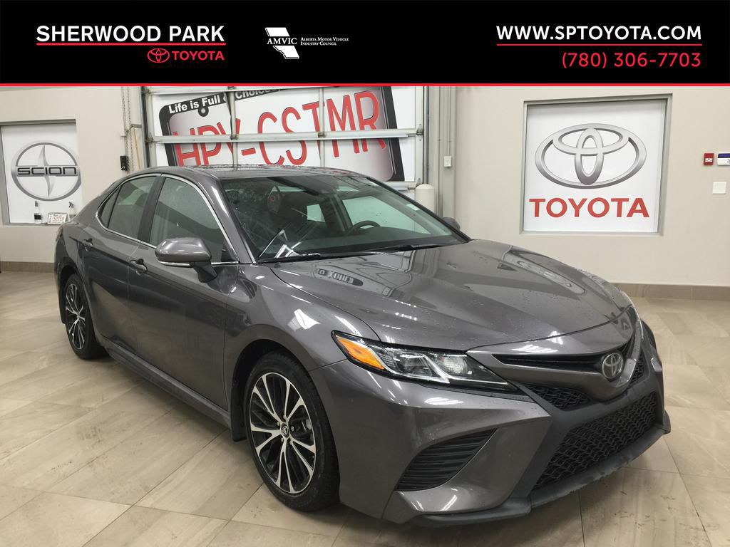Silver[Celestial Silver Metallic] 2019 Toyota Camry SE UPGRADE / LOW KMS