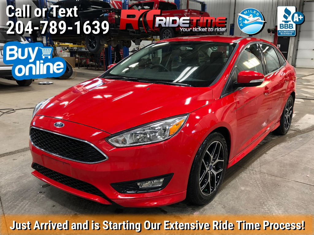 Red[Race Red] 2015 Ford Focus