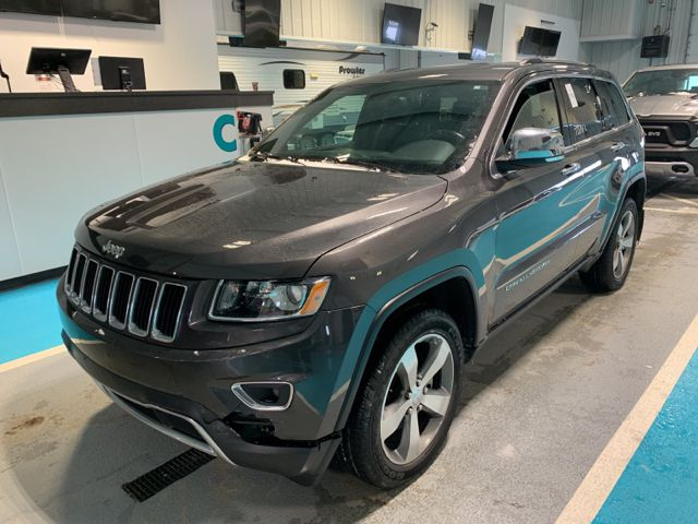 Gray 2015 Jeep Grand Cherokee 4WD 4dr Limited *Navigation*Back-Up Camera*Bluetooth*