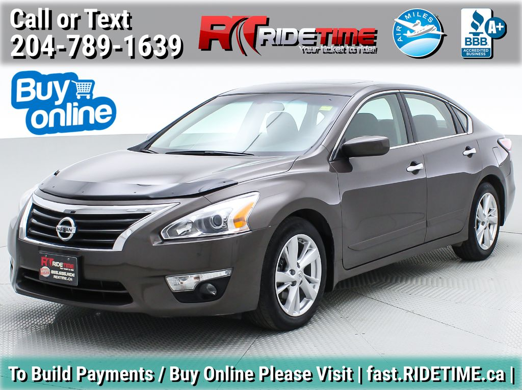 Brown[Java Metallic] 2014 Nissan Altima SV - Sunroof, Automatic, Alloy Wheels, LOW KMs