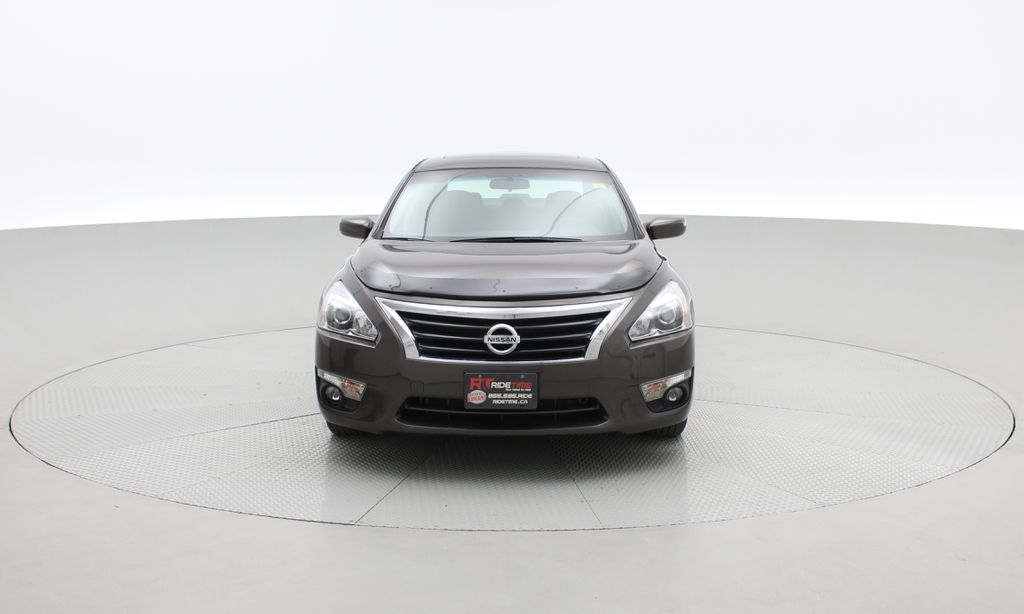Brown[Java Metallic] 2014 Nissan Altima SV - Sunroof, Automatic, Alloy Wheels, LOW KMs Front Vehicle Photo in Winnipeg MB