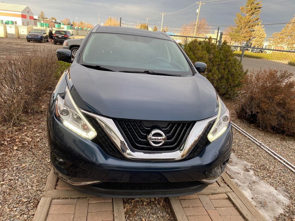 Blue[Arctic Blue Metallic] 2015 Nissan Murano Front Vehicle Photo in Lethbridge AB