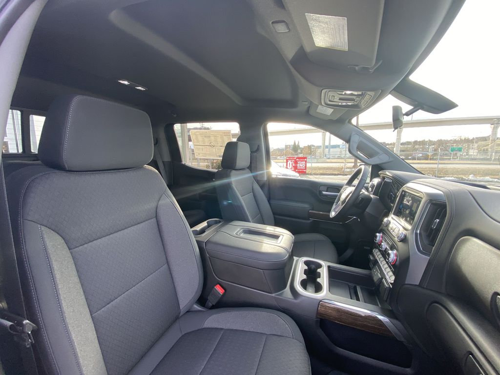 Blue[Pacific Blue Metallic] 2021 GMC Sierra 1500 Elevation Right Side Front Seat  Photo in Calgary AB