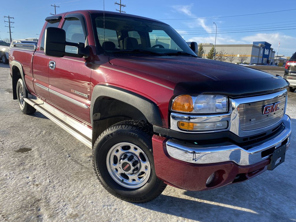Red[Sport Red Metallic] 2007 GMC Sierra 2500HD Classic