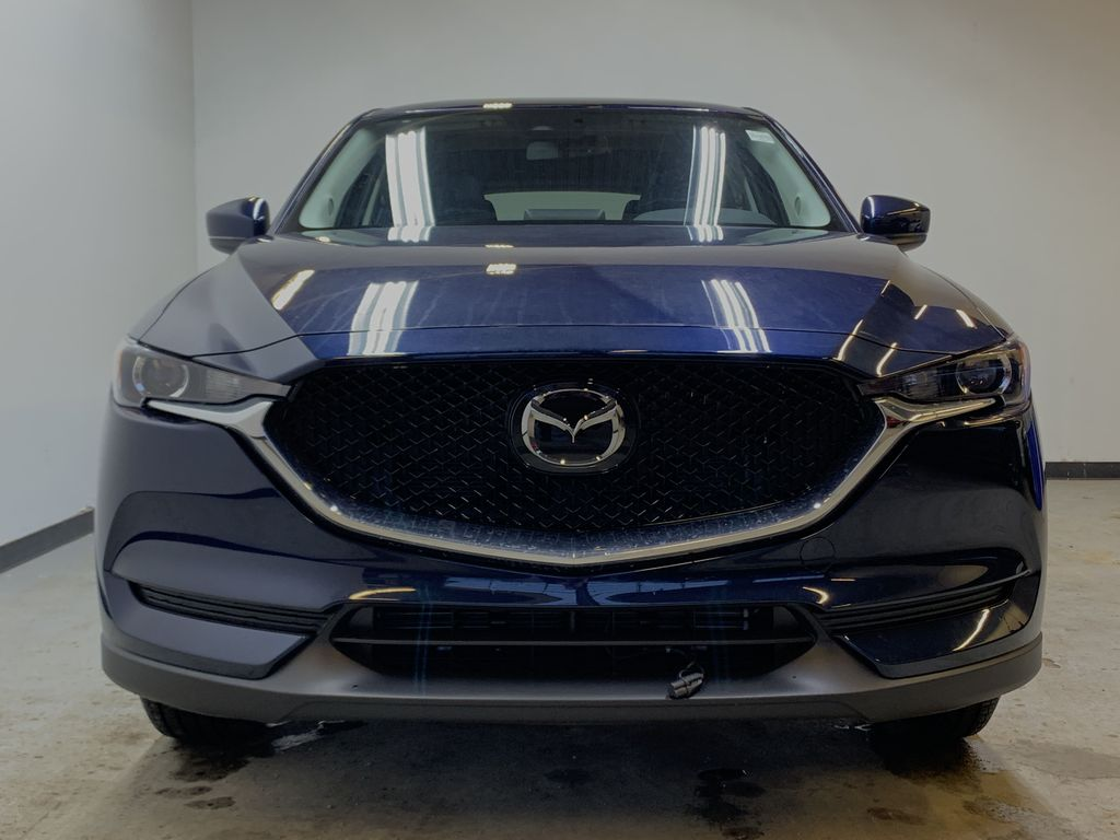DEEP CRYSTAL BLUE MICA(42M) 2021 Mazda CX-5 GS Comfort AWD Front Vehicle Photo in Edmonton AB