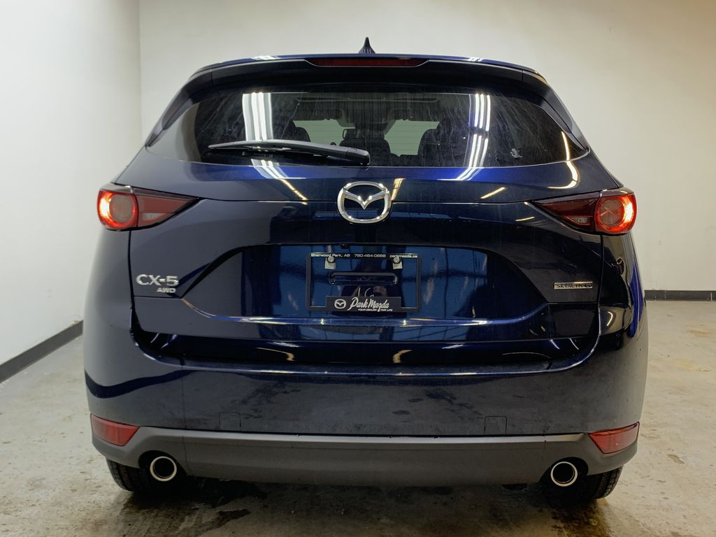 DEEP CRYSTAL BLUE MICA(42M) 2021 Mazda CX-5 GS Comfort AWD Rear of Vehicle Photo in Edmonton AB
