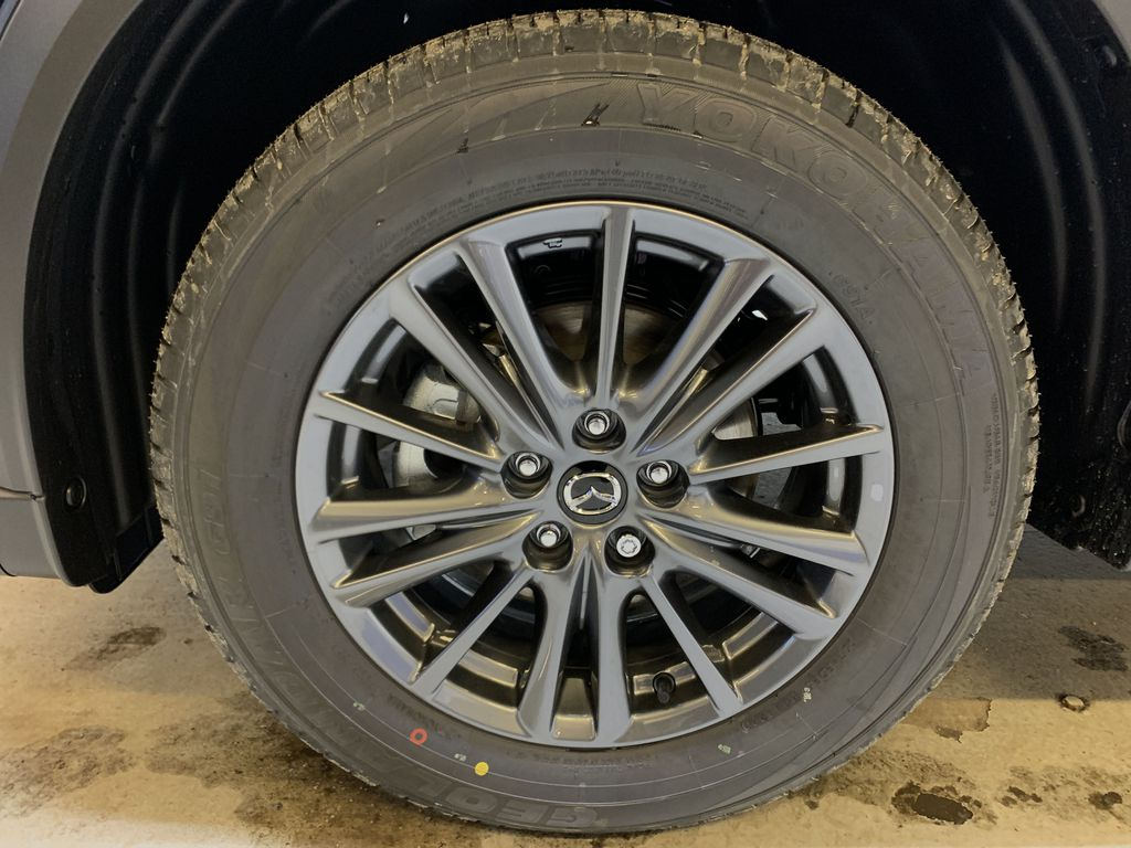 DEEP CRYSTAL BLUE MICA(42M) 2021 Mazda CX-5 GS Comfort AWD Left Front Rim and Tire Photo in Edmonton AB