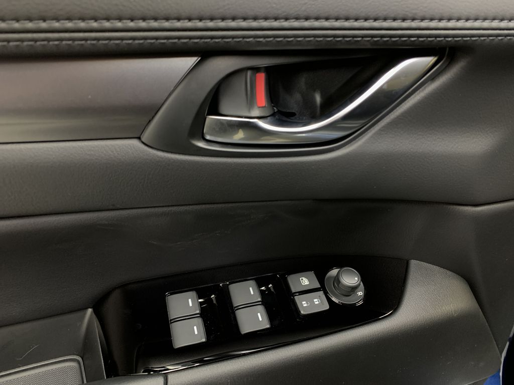 DEEP CRYSTAL BLUE MICA(42M) 2021 Mazda CX-5 GS Comfort AWD  Driver's Side Door Controls Photo in Edmonton AB