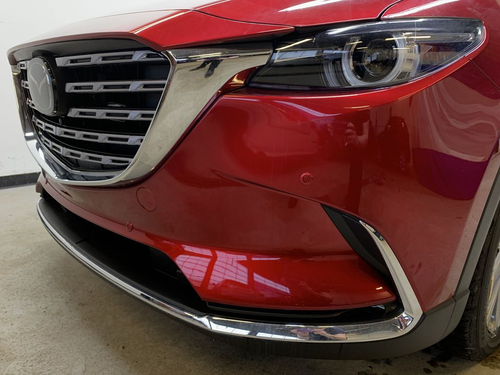 SOUL RED CRYSTAL METALLIC(46V) 2021 Mazda CX-9 Signature AWD Left Front Head Light / Bumper and Grill in Edmonton AB