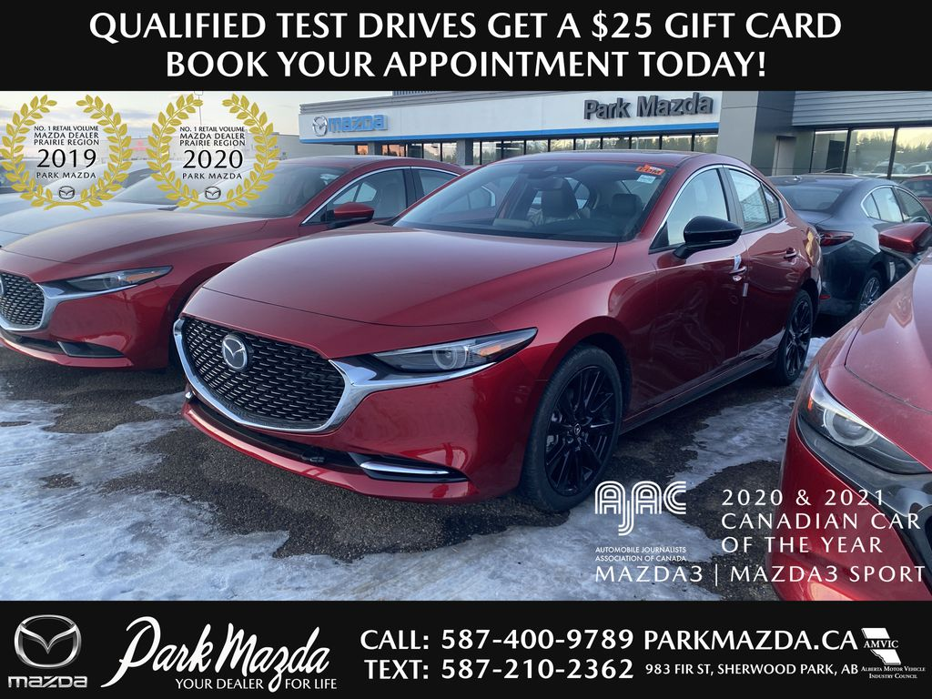 SOUL RED CRYSTAL METALLIC(46V) 2021 Mazda Mazda3 GT Turbo AWD