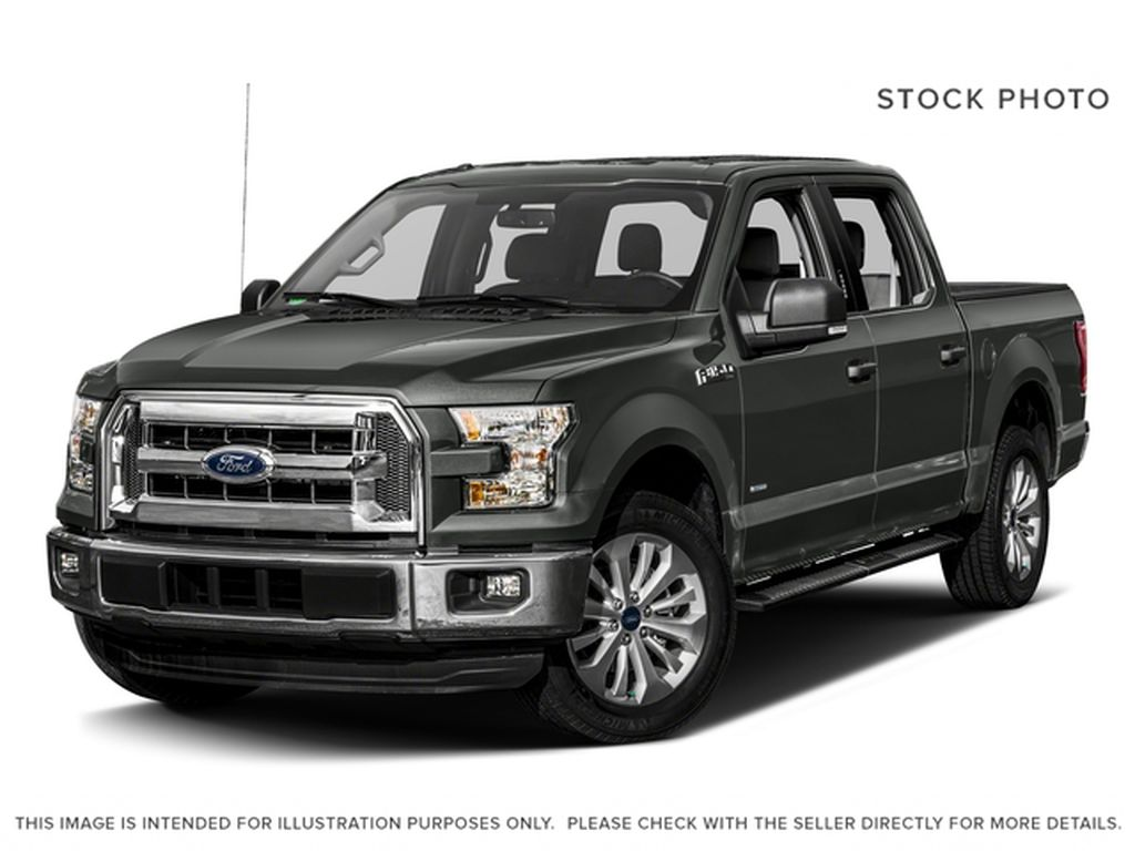 DARK GREY 2017 Ford F-150 / XLT / CREWCAB / 2.7L ECOBOOST