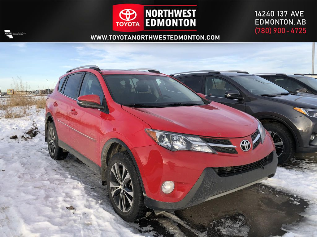 Red 2015 Toyota RAV4 XLE