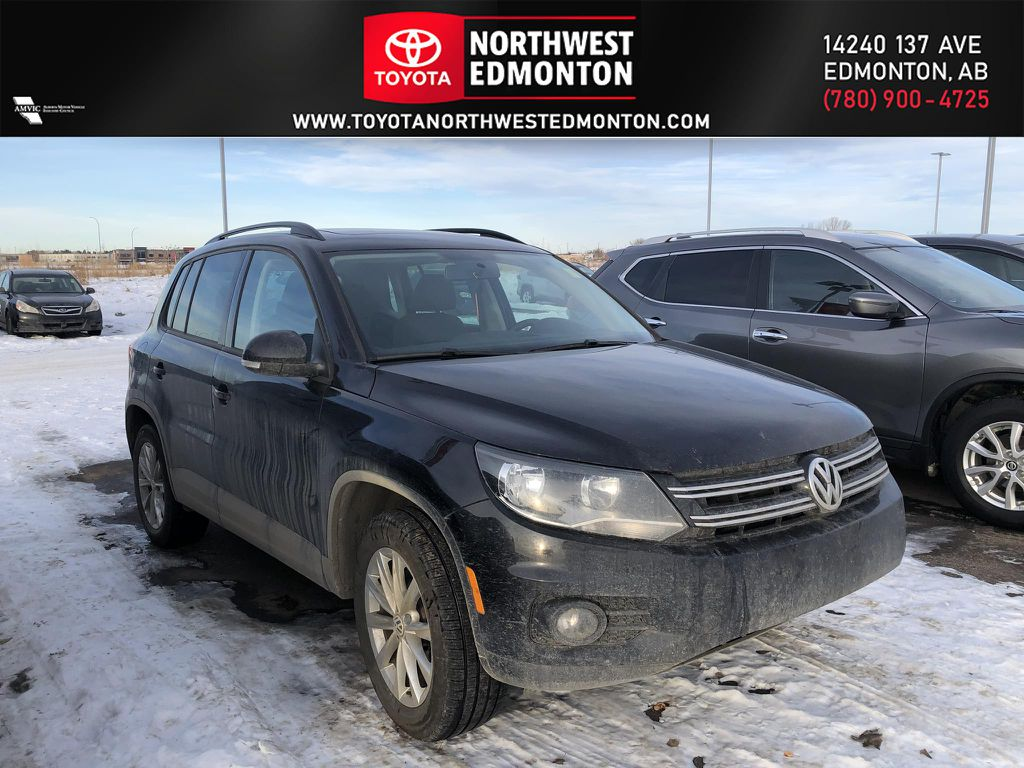 Black 2012 Volkswagen Tiguan HIGHLINE