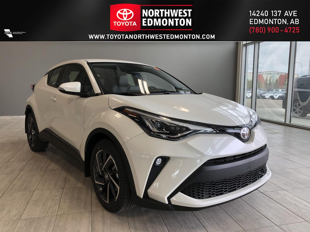 Blizzard Pearl 2021 Toyota C-HR Limited
