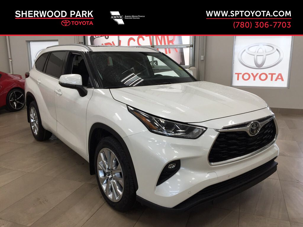 White[Blizzard Pearl] 2021 Toyota Highlander Limited