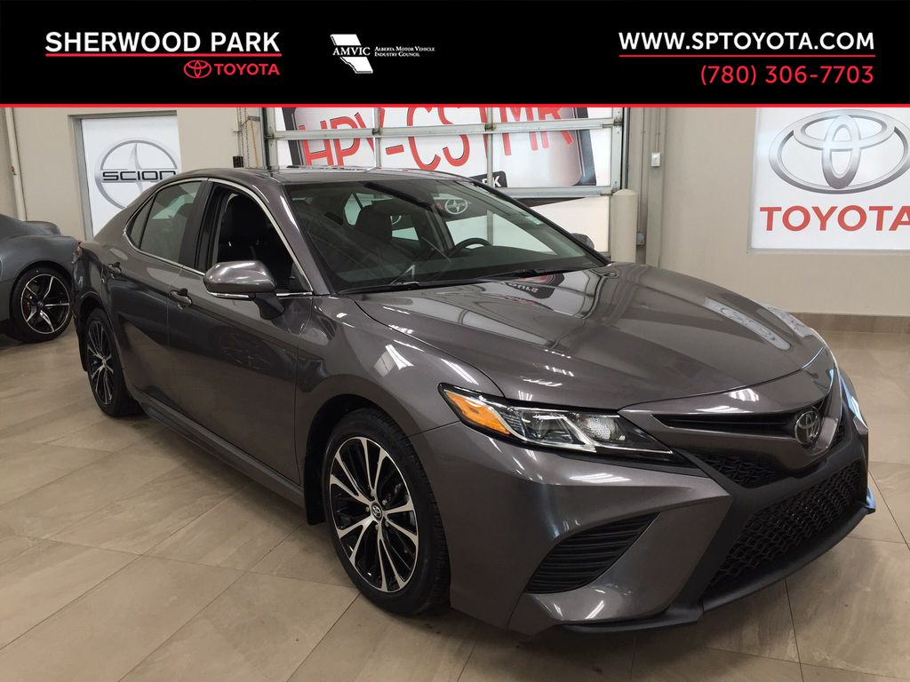 Gray[Pre-Dawn Grey Mica] 2019 Toyota Camry SE Upgrade