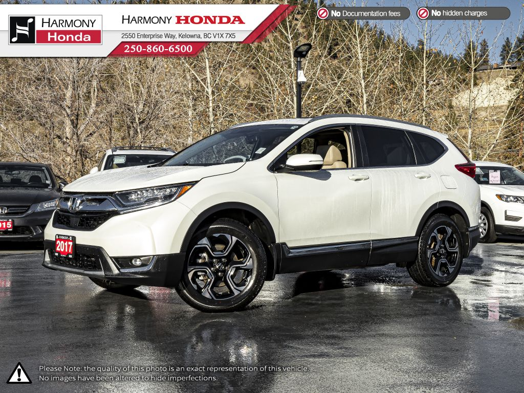White - White Diamond Pearl 2017 Honda CR-V