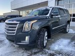 Silver[Radiant Silver Metallic] 2019 Cadillac Escalade Platinum Left Front Head Light / Bumper and Grill in Calgary AB
