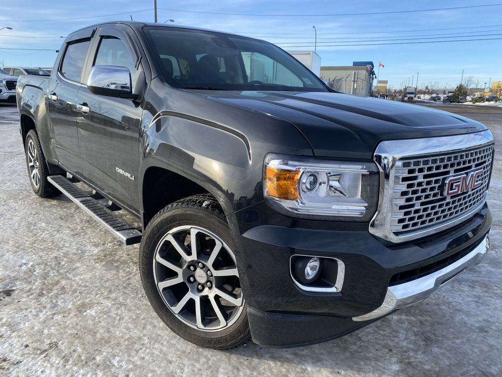 Black[Carbon Black Metallic] 2020 GMC Canyon