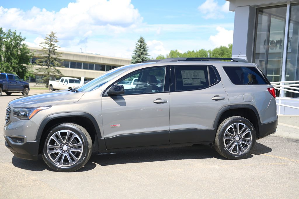 Pewter 2019 GMC Acadia Left Front Corner Photo in Barrhead AB