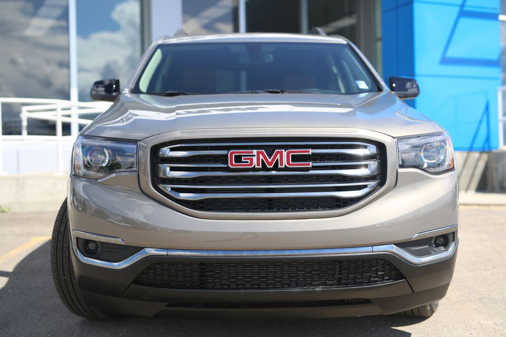Pewter 2019 GMC Acadia Left Front Head Light / Bumper and Grill in Barrhead AB