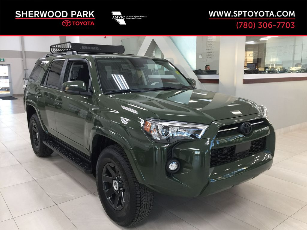 Green[Army Green] 2021 Toyota 4Runner Trail