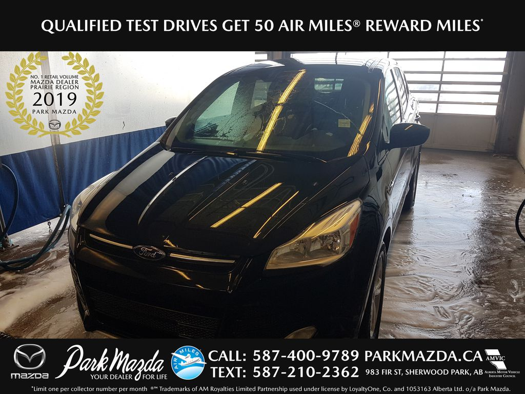 BLACK 2014 Ford Escape