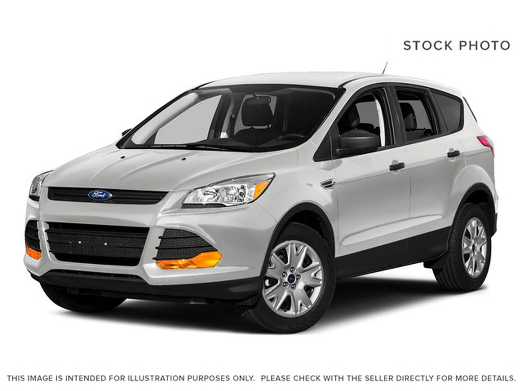 White[Oxford White] 2015 Ford Escape