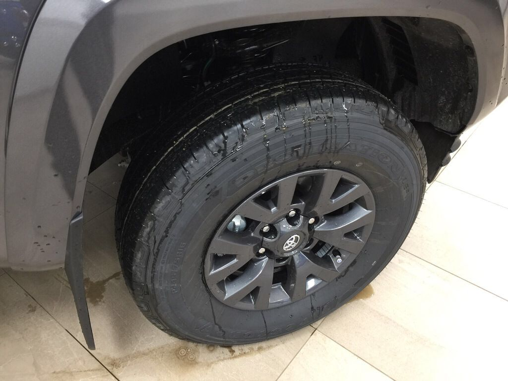 Gray[Magnetic Grey Metallic] 2021 Toyota Tacoma SR5 Right Front Rim and Tire Photo in Sherwood Park AB