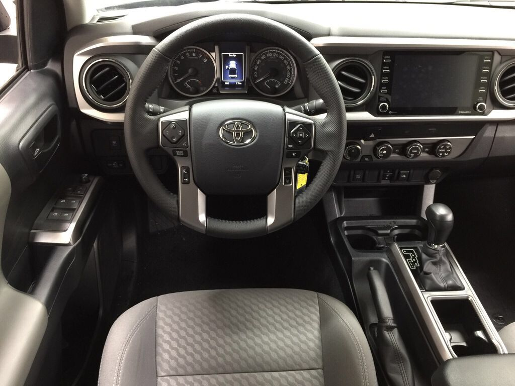 Gray[Magnetic Grey Metallic] 2021 Toyota Tacoma SR5 Left Front Seat Photo in Sherwood Park AB