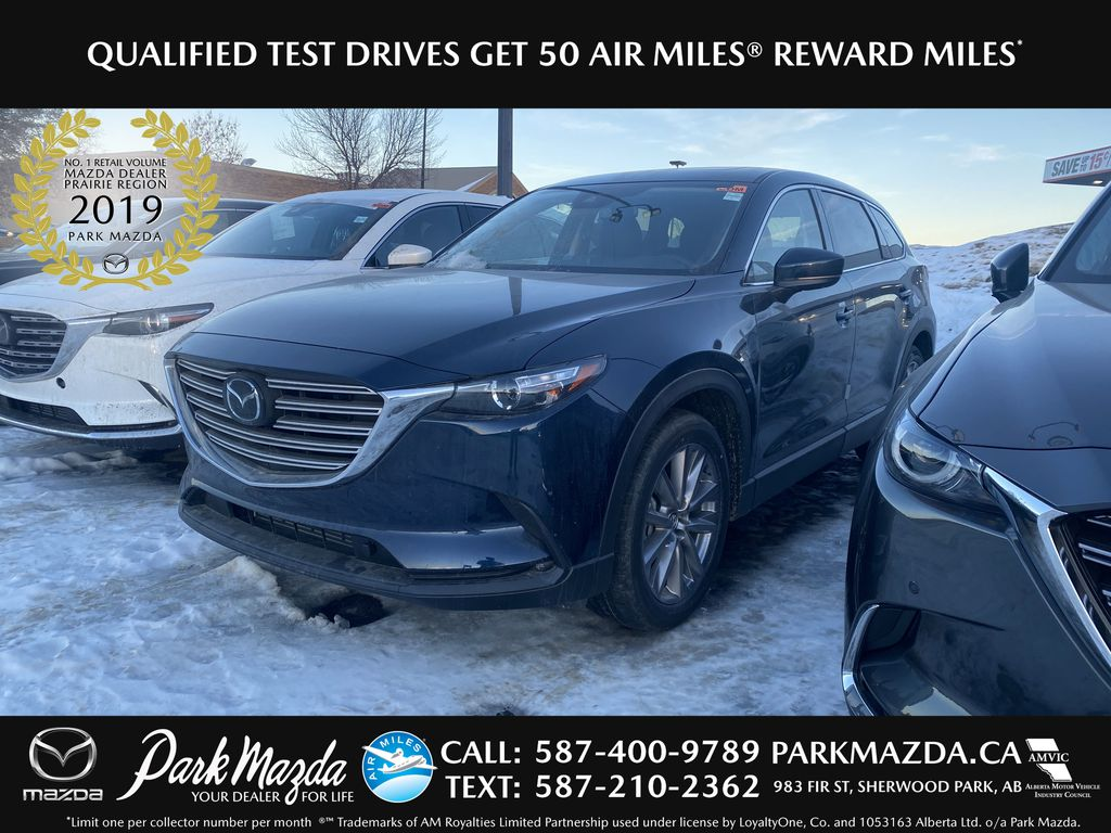DEEP CRYSTAL BLUE MICA(42M) 2021 Mazda CX-9