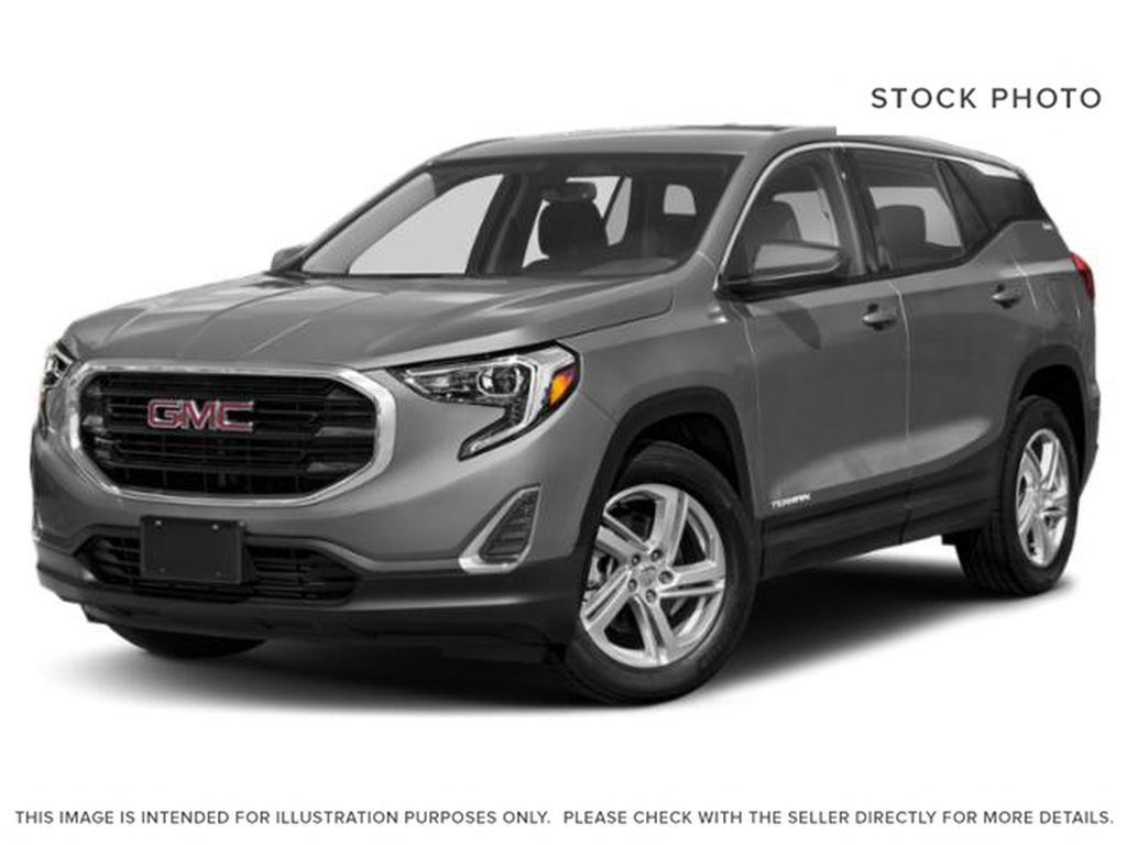 Satin Steel Metallic 2021 GMC Terrain
