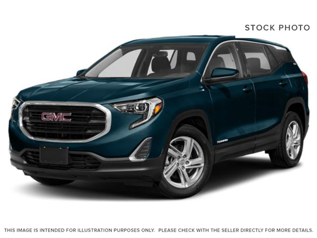 Blue Emerald Metallic 2021 GMC Terrain