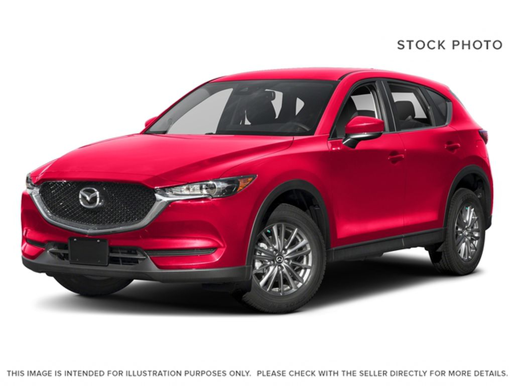 Red[Soul Red Crystal Metallic] 2018 Mazda CX-5 GS FWD