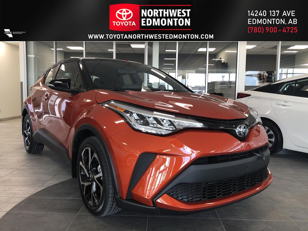 Hot Lava w/ Black Roof 2021 Toyota C-HR