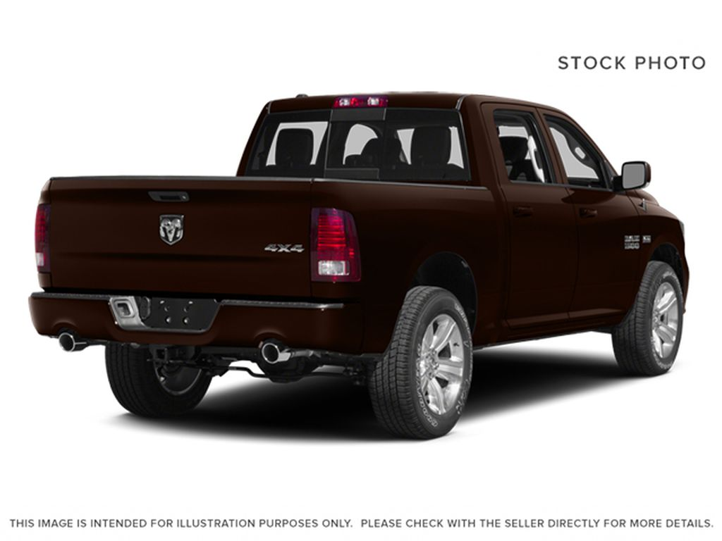 Brown[Western Brown] 2014 Ram 1500 Right Rear Corner Photo in Fort Macleod AB