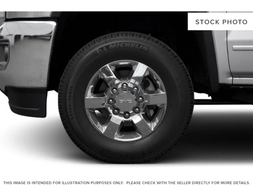 Gray[Dark Slate Metallic] 2019 GMC Sierra 3500HD Left Front Rim and Tire Photo in Fort Macleod AB