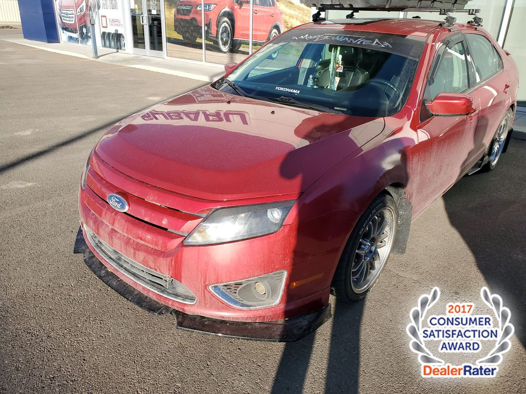 Red[U6,Red Candy Metallic Tinted] 2011 Ford Fusion SEL